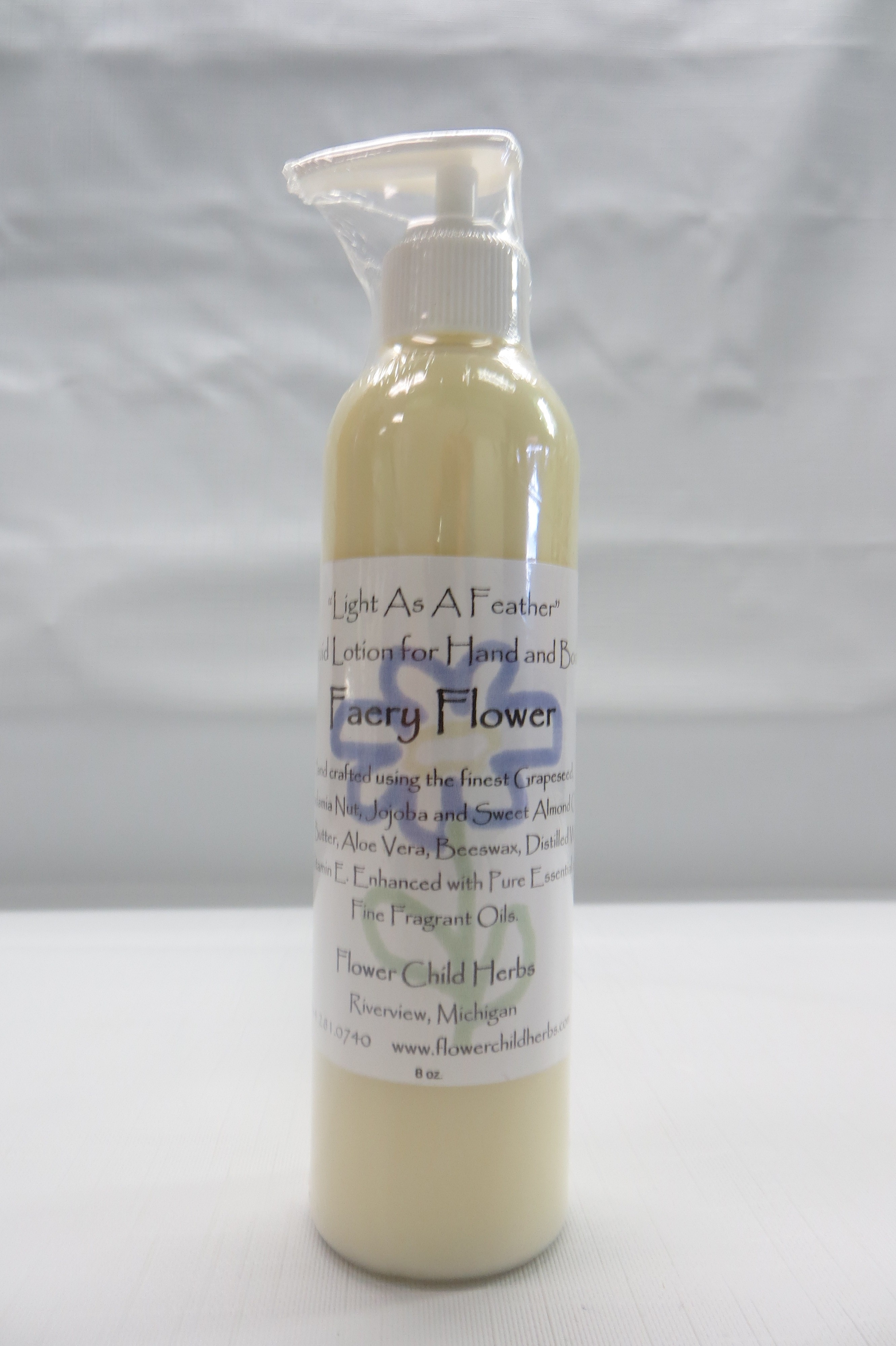 "Faery Flower ""Light as a Feather"" Lotion"