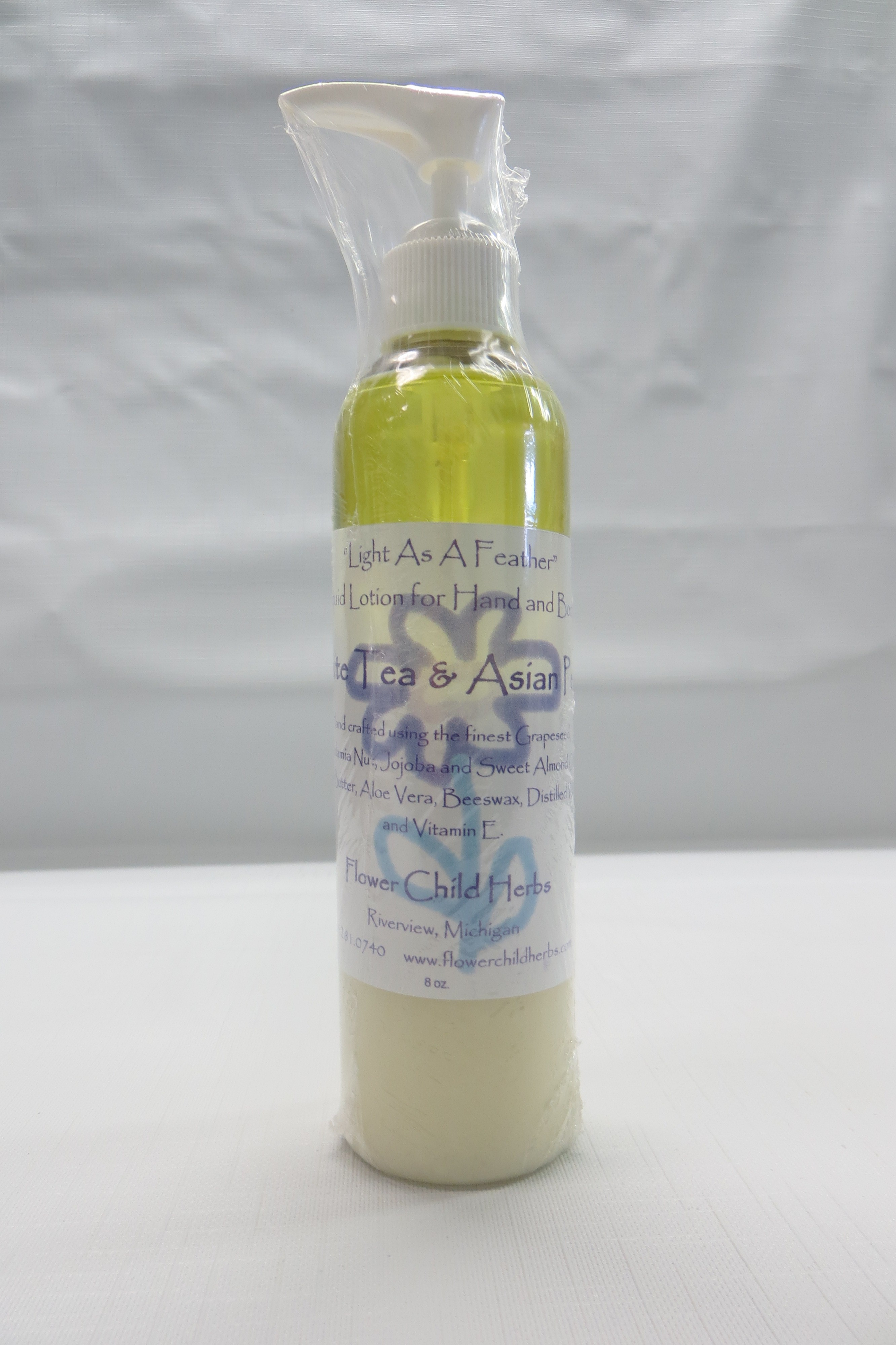 "White Tea Asian Pear ""Light as a Feather"" Lotion"