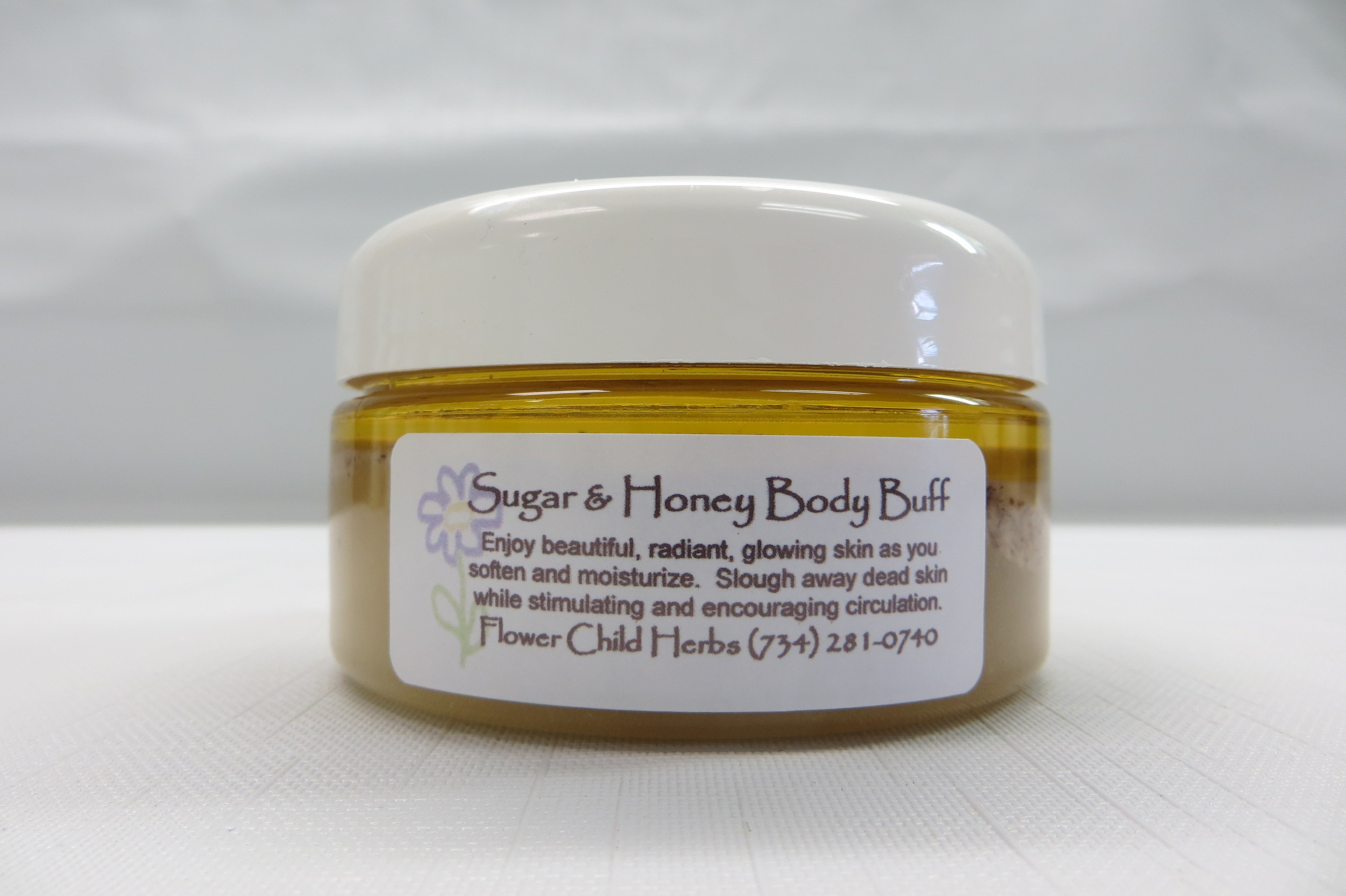 Almond Sugar and Honey Body Buff