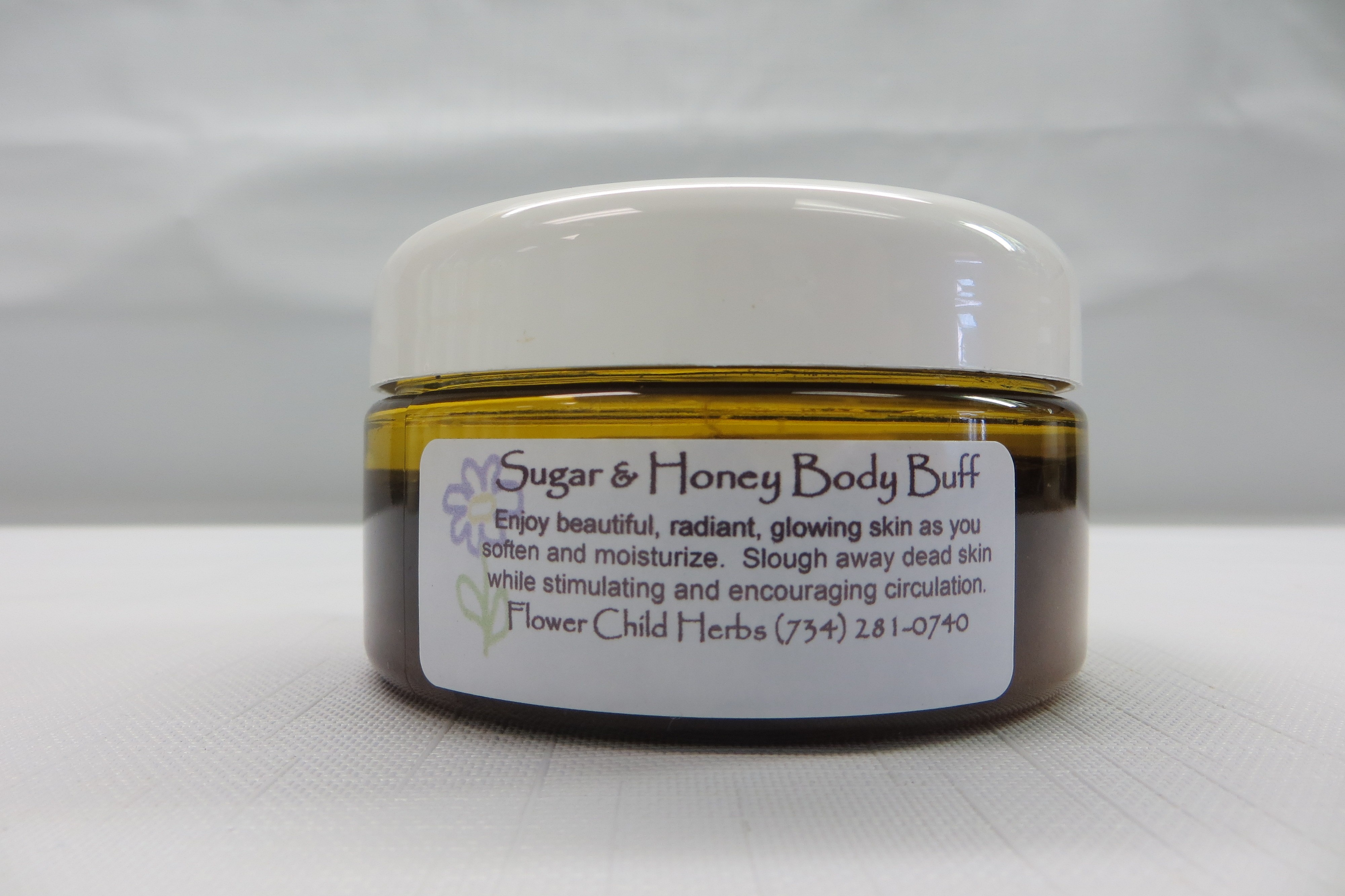 Chocolate Sugar and Honey Body Buff